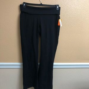 Lucy harmony black yoga pants size xL new cool